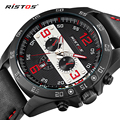 2017 New Luxury Brand Fashion Sport Quartz Watch Men Business Watch Russia Army Military Corium Leather Strap Wristwatch hodinky