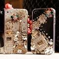 Diamante case capa para samsung galaxy note 7 5 3 4 2 s3 a9 A3 A5 A7 A8 A9 Pro E5 E7 J1 Fundas capa Strass Cristal Que Bling caso