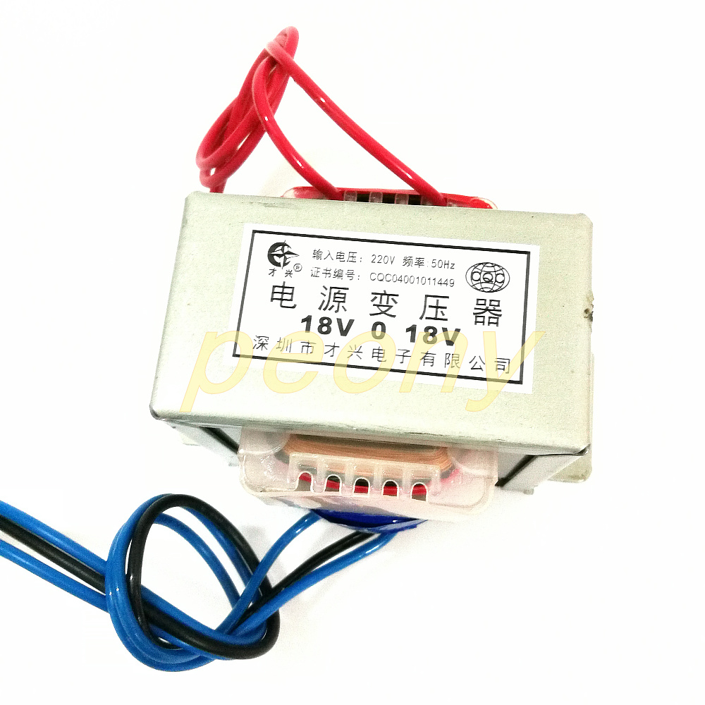 EI76 42 AC transformer DB 80VA 80W 220V dual 18V 18V 2 can be used as