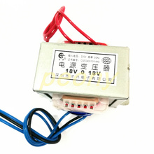 EI76 42 محول التيار المتردد DB 80VA 80 واط 220 فولت ثنائي 18 فولت 18 فولت * 2 يمكن استخدامها كواحد 36 فولت