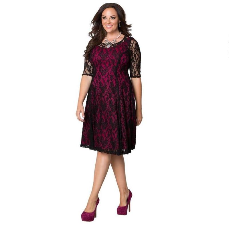 Women's Plus Size Sweet Leah Lace Dress s