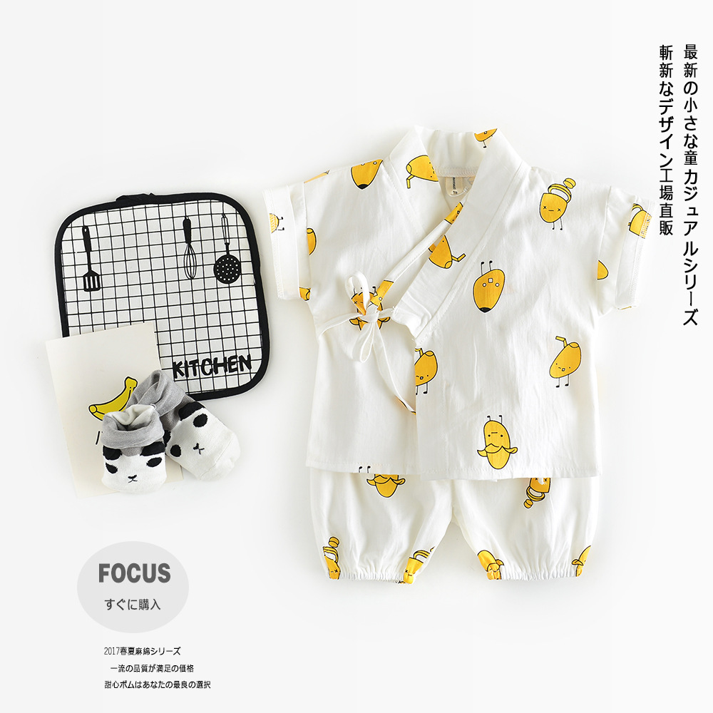 2pcs Baby Sets Suits Infant Kids Baby Cute Monk Long Sleeve Kimono Baby Boy Girl Clothes T-shirt+Cartoon Pants toddler infant baby kids boy girl clothes sets t shirt pants spring summer outfit long sleeve cute minions cartoon sweat