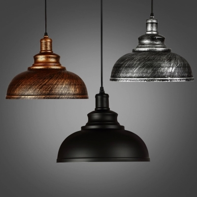 Loft Style Iron Droplight Edison Industrial Vintage Pendant Light Fixtures Dining Room Retro Hanging Lamp Indoor Lighting edison inustrial loft vintage amber glass basin pendant lights lamp for cafe bar hall bedroom club dining room droplight decor