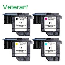 Ветеран C4810A C4811A C4812A C4813A для hp 11 печатающей головки hp 11 для hp Designjet 70 100 110 111 120 500 510 1100 печатающие головки принтера