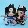 New Anime Naruto Uchiha Sasuke and Itachi Soft Plush Toy Cartoon Stuffed Doll 2 Styles Retail