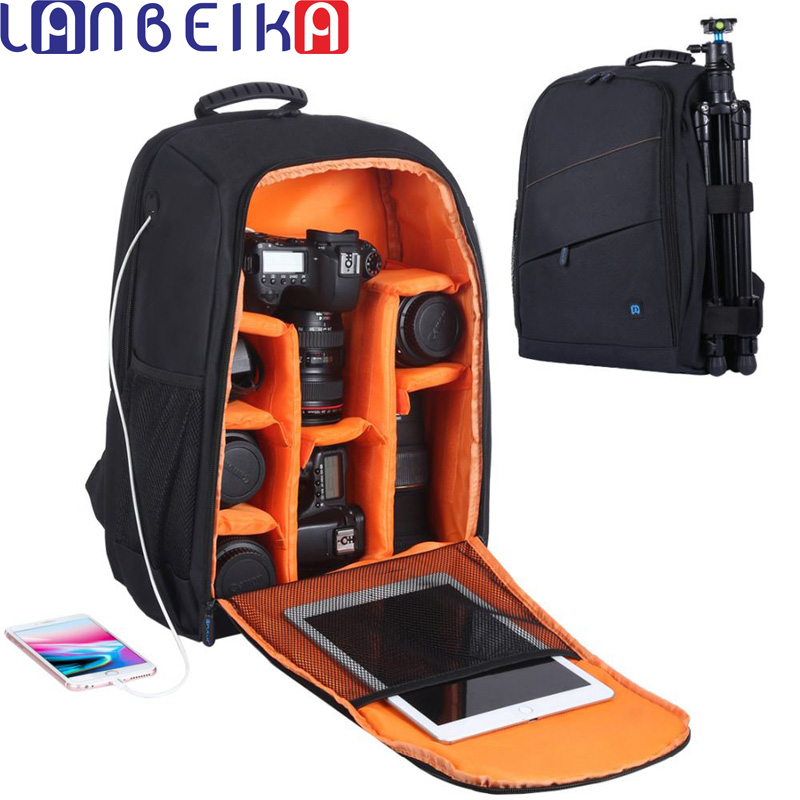 64ee42ba6885 Detail Feedback Questions about LANBEIKA Outdoor Portable Waterproof  Scratch proof Dual Shoulders Backpack Camera Accessories Bag Digital DSLR  Photo Video ...