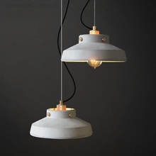 JAXLONG The Nordic Retro Pendant Lights Creative Personality Bedside Bar Coffee Cement Lamps Dining Room Single-head Cafe fashion personality nordic modern pendant lights minimalist dining room single industrial wind bar pendant lamps za fg710