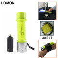 Portable 2000LM CREE XML-T6 Diving Flashlight 18650 Waterproof Dive Torch Lamp For Diving Lantern 100% Quality Assurance