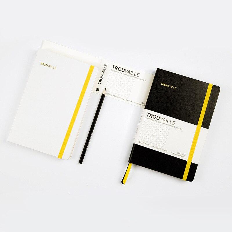 Pasta de Metal em Espiral Diário Planejador Notebook a5 a6