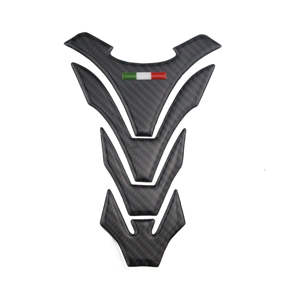 KODASKIN Real Carbon Tank Pad Sticker Decal Emblem for Ducati All Model kodaskin carbon 3d adesivi sticker decal emblem protection tank pad gas cap z1000 2012 2015