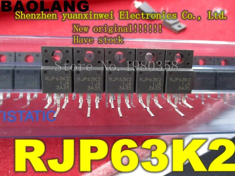 RJP63K2DPP  RJP63K2 New Original  RJP 63K2 TO220F 50pcs