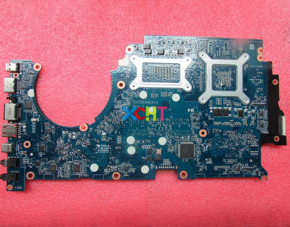 Image 2 - XCHT for HP Omen 15 15 CE 15T CE000 Series 929483 601 929483 001 DAG3AAMBAE0 GTX1050 4GB i7 7700 Laptop Motherboard Tested-in Laptop Motherboard from Computer & Office