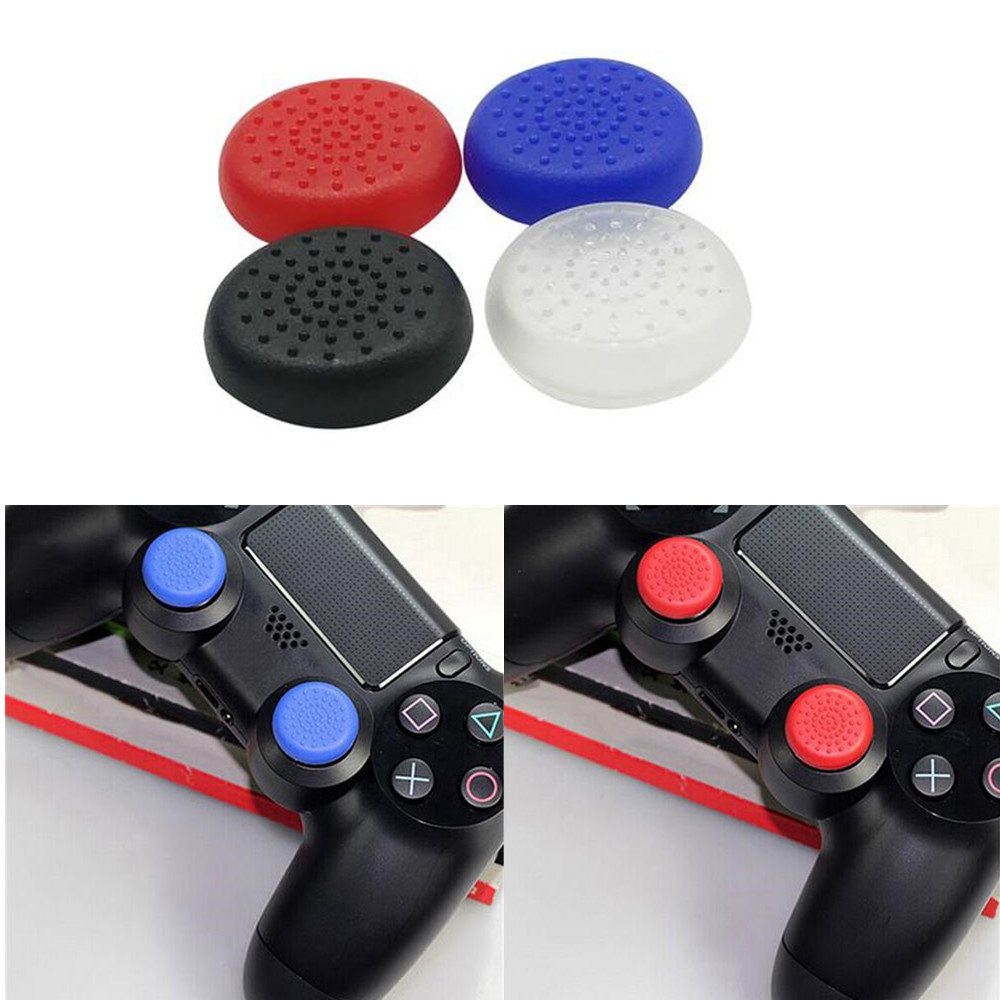 2PCS Gamepad Silicone Button Protective Caps Handle Joystick Cap Button Silicone Thumb Grips Caps For Sony PS4 Analog Controller2PCS Gamepad Silicone Button Protective Caps Handle Joystick Cap Button Silicone Thumb Grips Caps For Sony PS4 Analog Controller