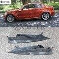 E82 1 серия 1 м купе RZ Стиль углеродного волокна авто задний бампер фартуки боковой сплиттер для BMW E82 1 м Revozport Стиль 07-14