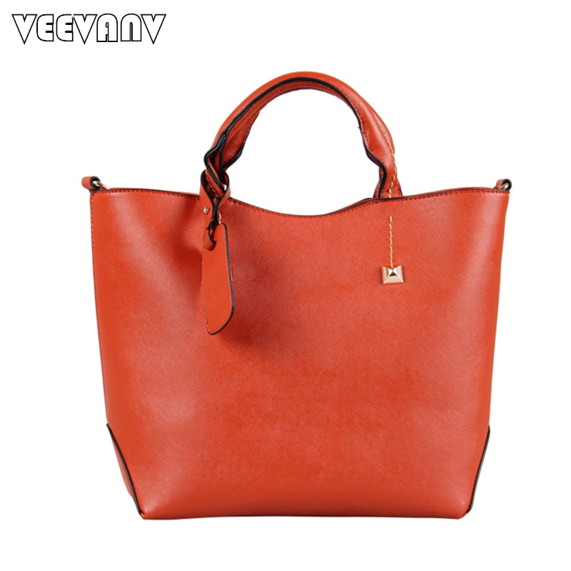 2018 High Quality Women Messenger Bags Fashion Brands Tote Bag Pu Leather Shoulder Crossbody Bags Vintage Ladies Handbags Female