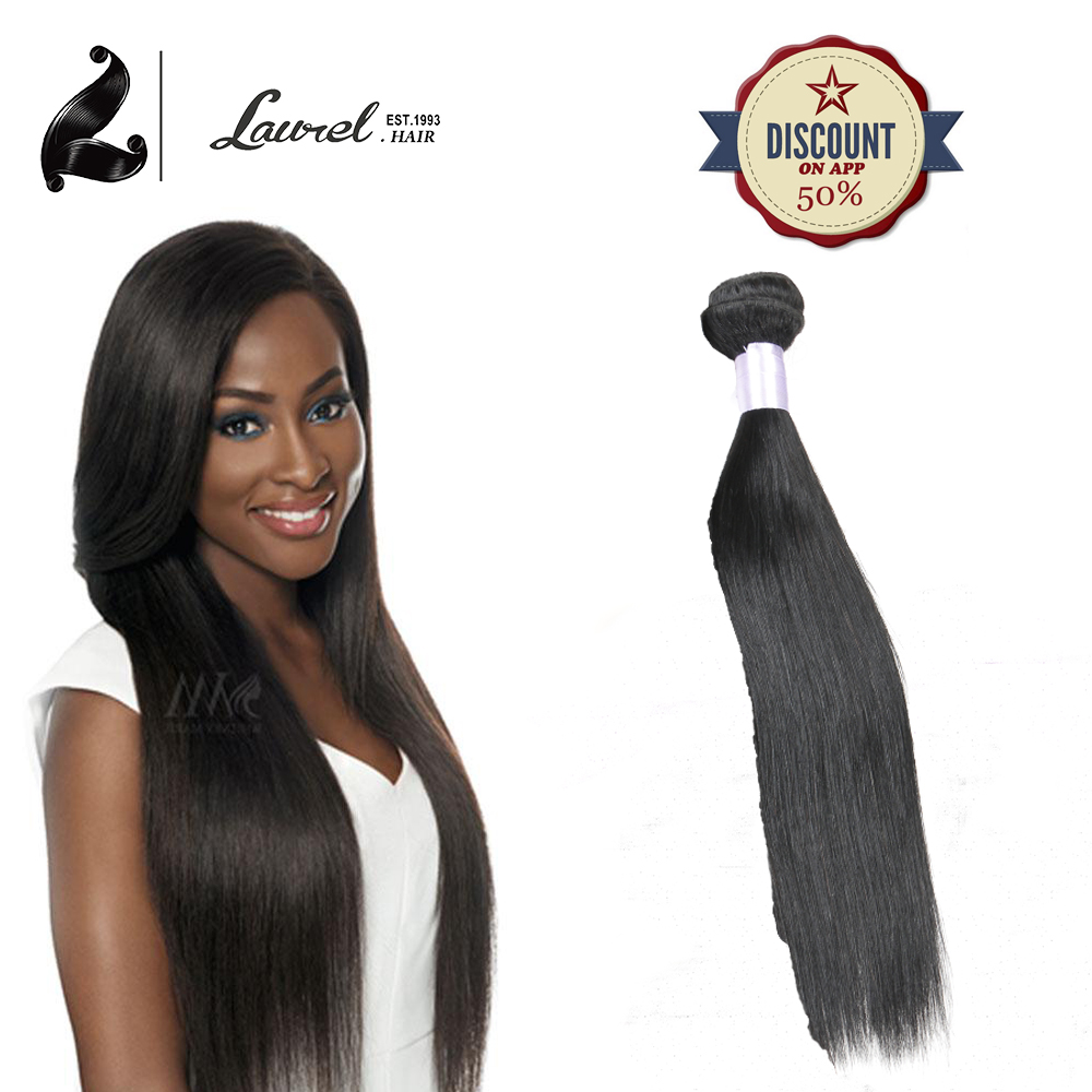 Tissage Malaysian Lisse Silky Straight Human Hair Bundles Laurel Hair font b Products b font Straight