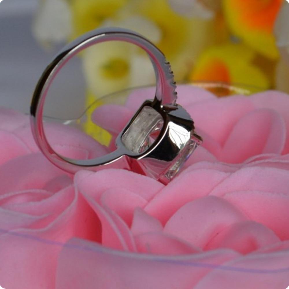 Aliexpress.com : Buy THREEMAN 3CT Cushion Cut Gold 18K Diamond Pink ...