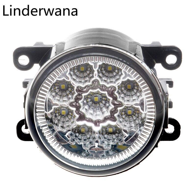 Nebbia Gruppo Lampada Super Luminoso Della Luce di Nebbia Per Citroen C3 C4 C5 C6 C-Crosser Xsara Picasso di Nebbia del Led luci 2 pz