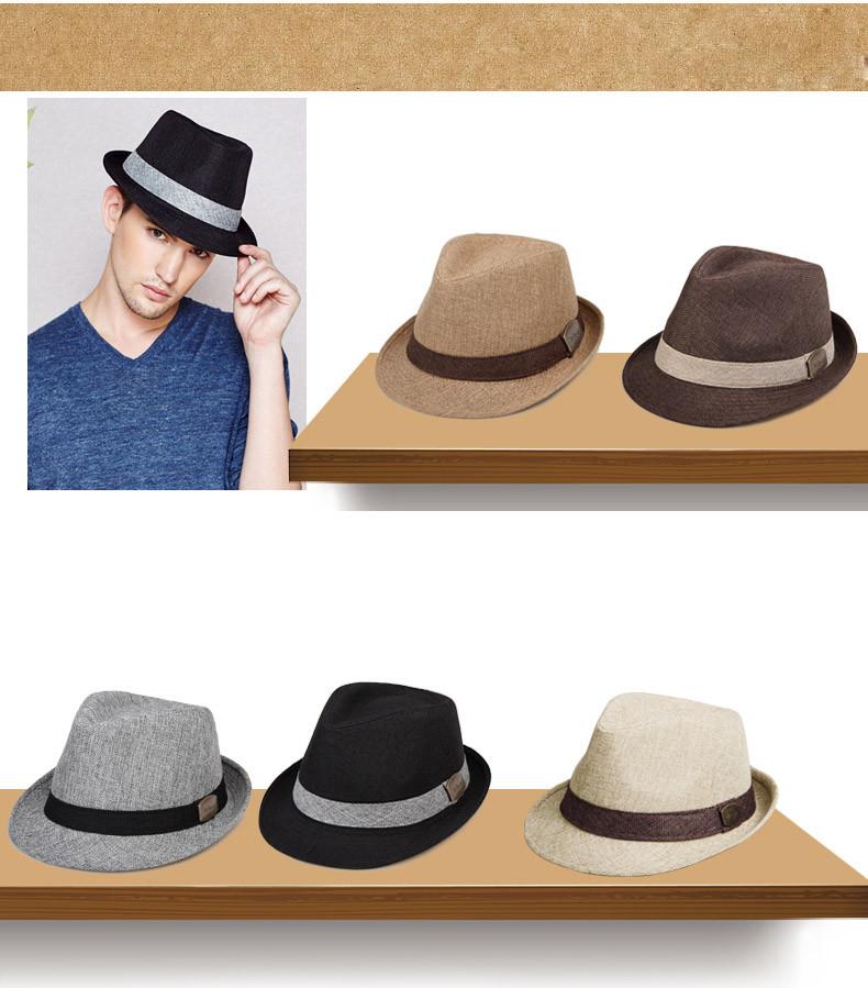 vintage fedora hat black fedora hats for men wool felt hat mens hats fedoras mens fedora hats winter vintage hat jazz hat (28)