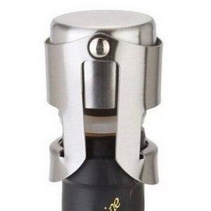 Edelstahl Champagner Wein Flasche Stopper Tragbare Sealer Bar Stopper Wein Stopfen Sekt Champagne Cap 301-0617