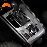 For Mazda CX5 CX 5 2017 2018 Accessories Interior Electronic Handbrake Switch Decorative Panel Gear Shift