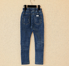 Stereo Cat  Ripped Denim Jeans For Girls 2-13years