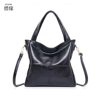 XIYUAN BRAND Women pu leather handbags female vintage crossbody bags BLACK toteS bolsa ladies shoulder bags motorcycle bag WHITE xiyuan brand ladies beautiful and high grade imports pu leather national floral embroidery shoulder crossbody bags for women
