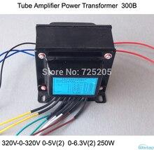 IWISTAO Tube Amplifier Power Transformer 250W 300B 320V-0-320V 0-5V 0-6.3V HIFI Audio DIY