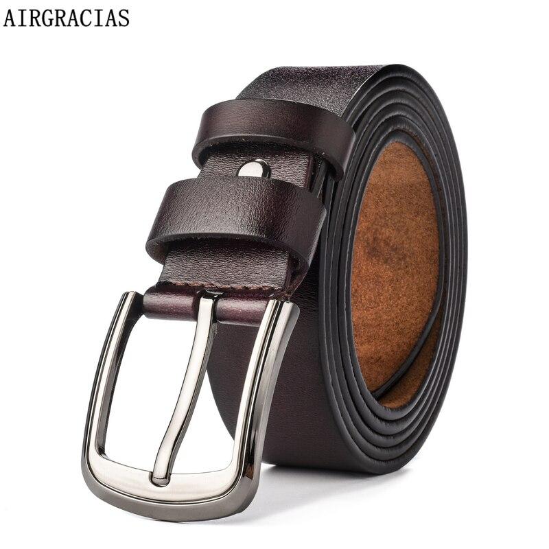 AIRGRACIAS 2016 Designer Belts Men High Quality Genuine ...