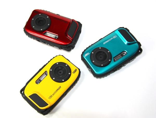 ФОТО Karue Max 16MP Resolution10 Meters Waterproof Digital Camera   shock 2.7 inch Screen 5MP CMOS Camcorder Mini Digital Camera