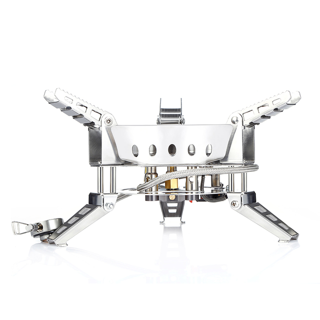 6800W SUPER-POWER Gas Stove Outdoor Camping Windproof  Portable Split Gas Burner for Cooking Camping Hiking Bulin BL100-B17 1