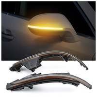 2 стайлинга автомобилей светодиодный сигнал лампы для AUDI A7 S7 последовательного Blink светодиодный указатели поворота копченая зеркала лампа
