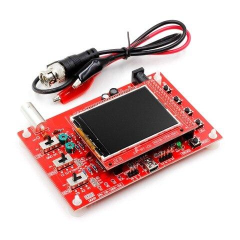 "DSO FNIRSI-138 2.4"" TFT Pocket-size Digital Oscilloscope Kit DIY Parts Handheld+9 v adapter Islamabad"