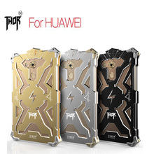 SimonThor Series Aviation Aluminum Metal phone shell Anti-scratch Hollow Design cover for Huawei P9 Lite case Mate 7 8 9 S case