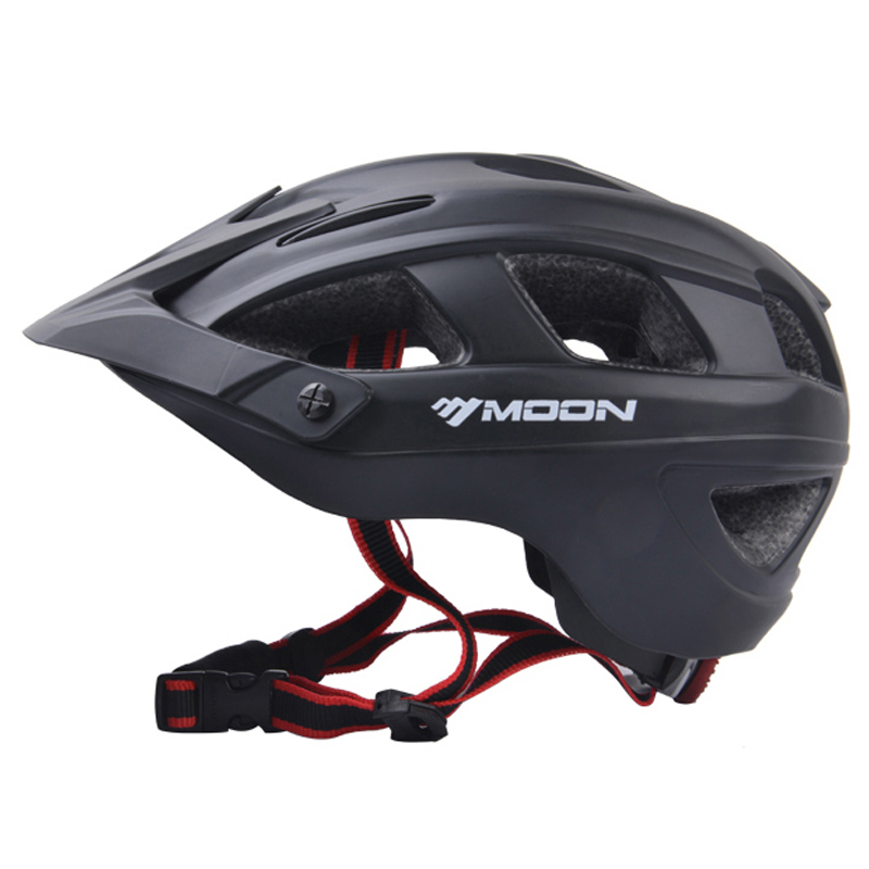 MOON Bicycle Helmet Ultralight Cycling Helmet Casco Ciclismo Integrally-molded Bike Helmet Road Mountain MTB Helmet moon mv37 outdoor cycling bike helmet black golden red