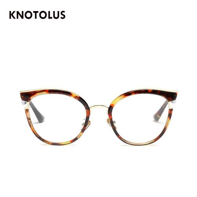 a52a34c4a944 Online Shop Knotolus 2018 New Women Clear Lens Sunglasses Ladies ...