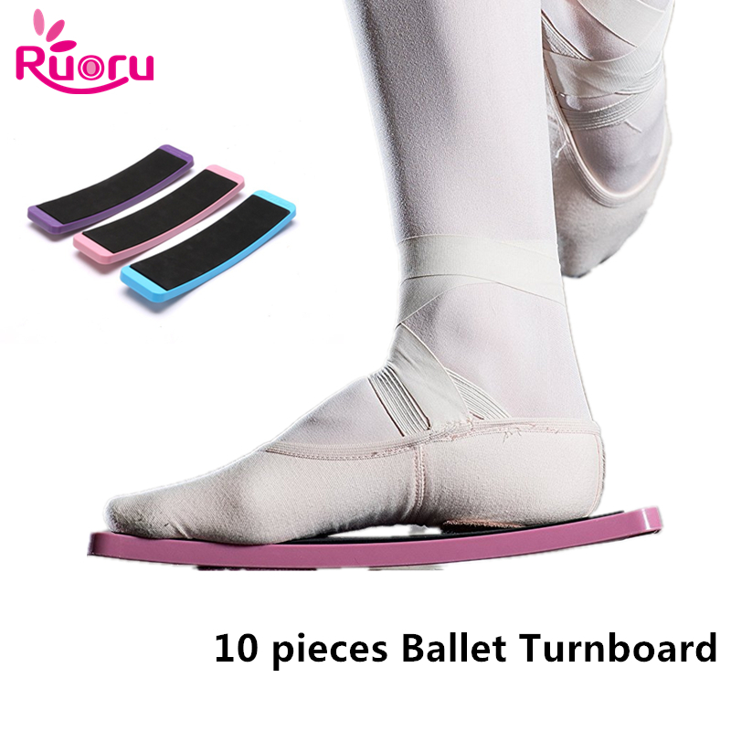 Ballet Turnboard Puple Pink Blue Ballet Dance Turn Board Ballet Pirouette Training Turnboard Dance Spin Turn Board Tools Is Fun in Ballet from Novelty Special Use