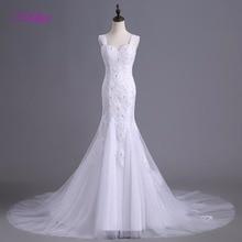 fsuzwel Melice Elegant Court Train Mermaid Wedding Dress
