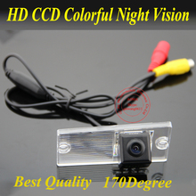 For Kia Sportage Car RearView Camera Car Reversing Camera with WaterProof IP69k + Wide Angle 170Degree + CCD + Free Shipping