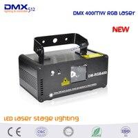 DHL Free shipping Remote DMX RGB Laser Stage Lighting Scanner DJ Dance Xmas Show Blue Light LED Effect Projector Disco item