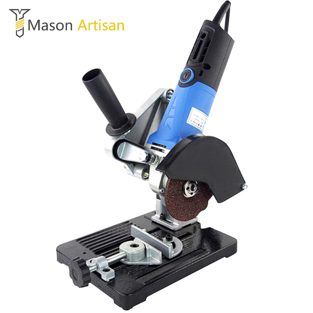 angle grinder machine. universal angle grinder support holder stand electric woodworking tools wood cutting machine power tool accessories