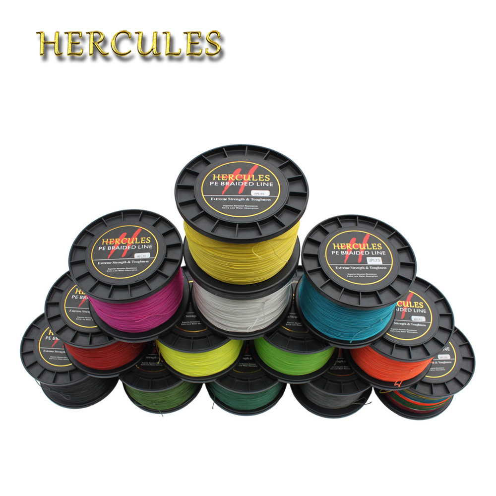 Hercules Big Game Braid Fishing Line 2000M 8 Strands 2187Yds 200LB 0.75mm Powerful Superior PE Super Lake Extreme Strong Fishing цена и фото