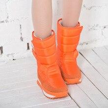 Dames bottes d'hiver coloré neige boot 2016 nouveautés mode Chaud femme bottes