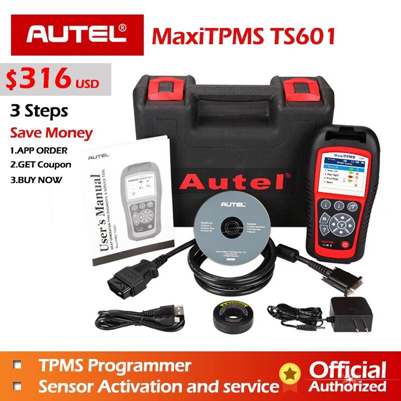 AUTEL MaxiTPMS TPMS TS601 TS401 инструмент диагностики PAD MX датчик инструментов программирования MX-Датчик 433 315 OBD2 сканер Автомобильный сканер