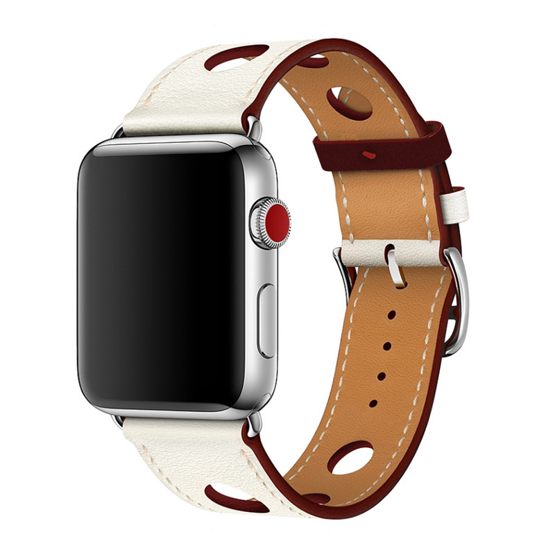 apple series 1 2 3 Leather Strap (3)