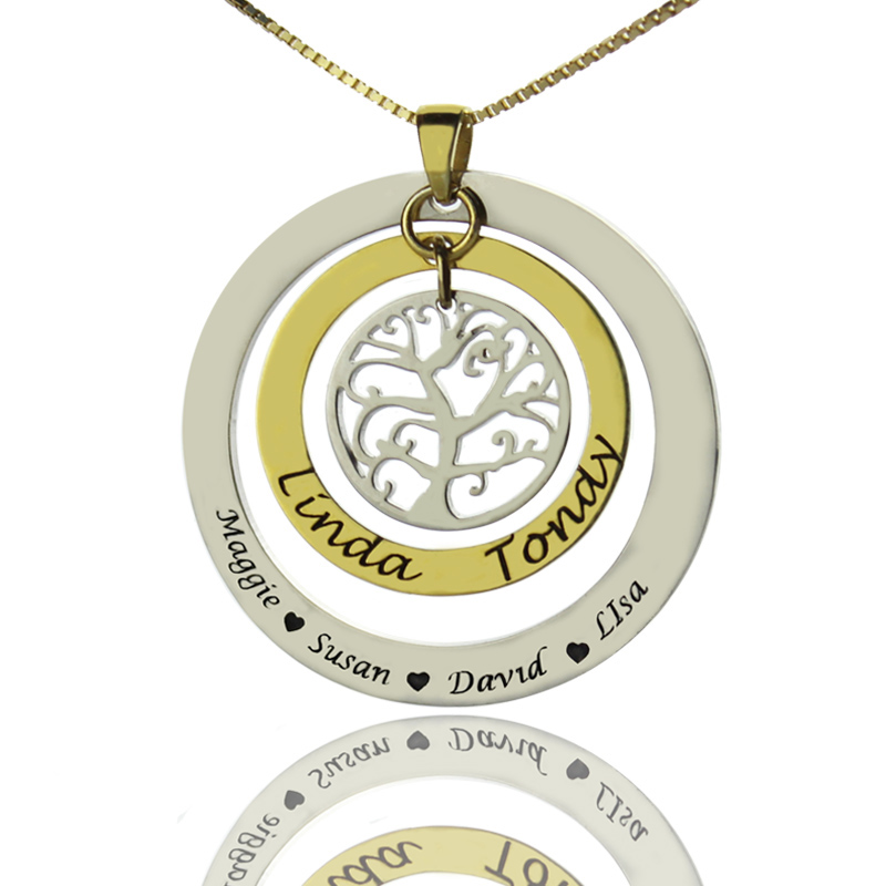 gold ne swarovski plated family gp ft with necklace birthstones tree