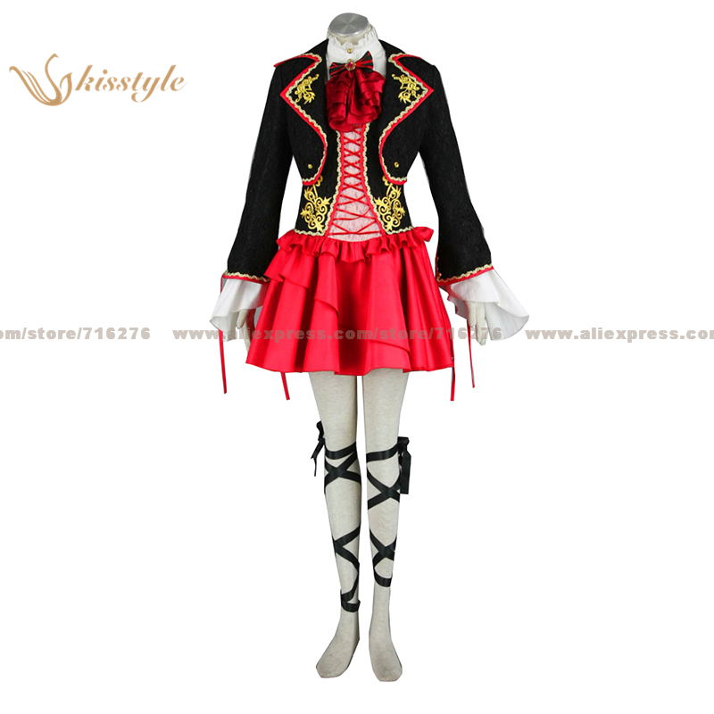 Kisstyle Fashion VOCALOID Kagamine RIN DRAGON Luxurious Uniform COS Clothing Cosplay Costume Costume Made