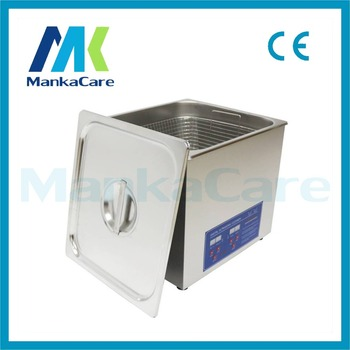 High Power Dental Stainless Steel 19L Ultrasonic Cleaner Cleaning Machine Digital Heated Cleaning Machine
