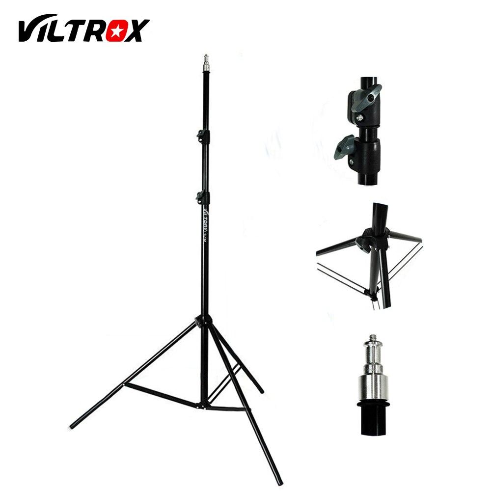 Viltrox 2 mt Licht Lampe Stehen Stativ mit 1/4 Schraube Kopf für Foto Studio Softbox Video Flash Regenschirm Reflektor Beleuchtung