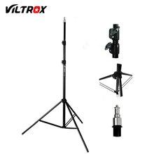 Viltrox 2M Light Stand Tripod with 1/4 Screw Head for Photo Studio Softbox Video Flash Umbrella Reflector Lighting